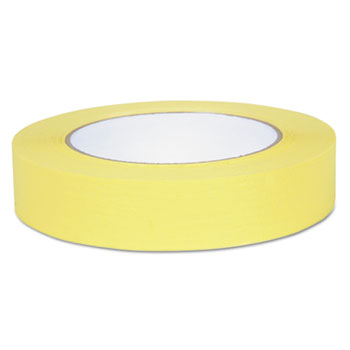 "Color Masking Tape, .94"" x 60 yds, Yellow"