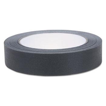 """Color Masking Tape, .94"""" x 60 yds, Black"""