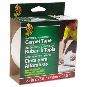 """Carpet Tape, 1.88"""" x 75ft, 3"""" Core"""