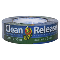 "Clean Release Painter's Tape, 3"" Core, 1.41"" x 60 yds, Blue, 16/Pack"