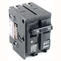 MES MP250 Type MP-T Circuit Breaker, 120/240 VAC, 50 A, 2 P, 10 kA