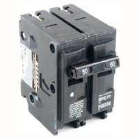 MES MP260 Type MP-T Circuit Breaker, 120/240 VAC, 60 A, 2 P, 10 kA