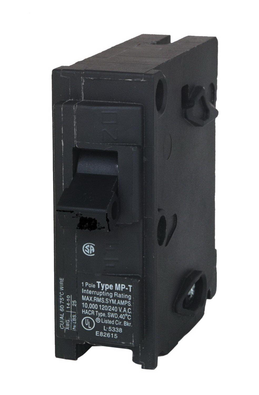 Murray MP140 Type MP-T Circuit Breaker, 120 VAC, 40 A, 1 P, 10 kA