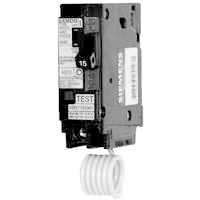 MES Q115AFC Arc Fault Combination Miniature Circuit Breaker, 120/240 VAC, 15 A, 1 P, 10 kA