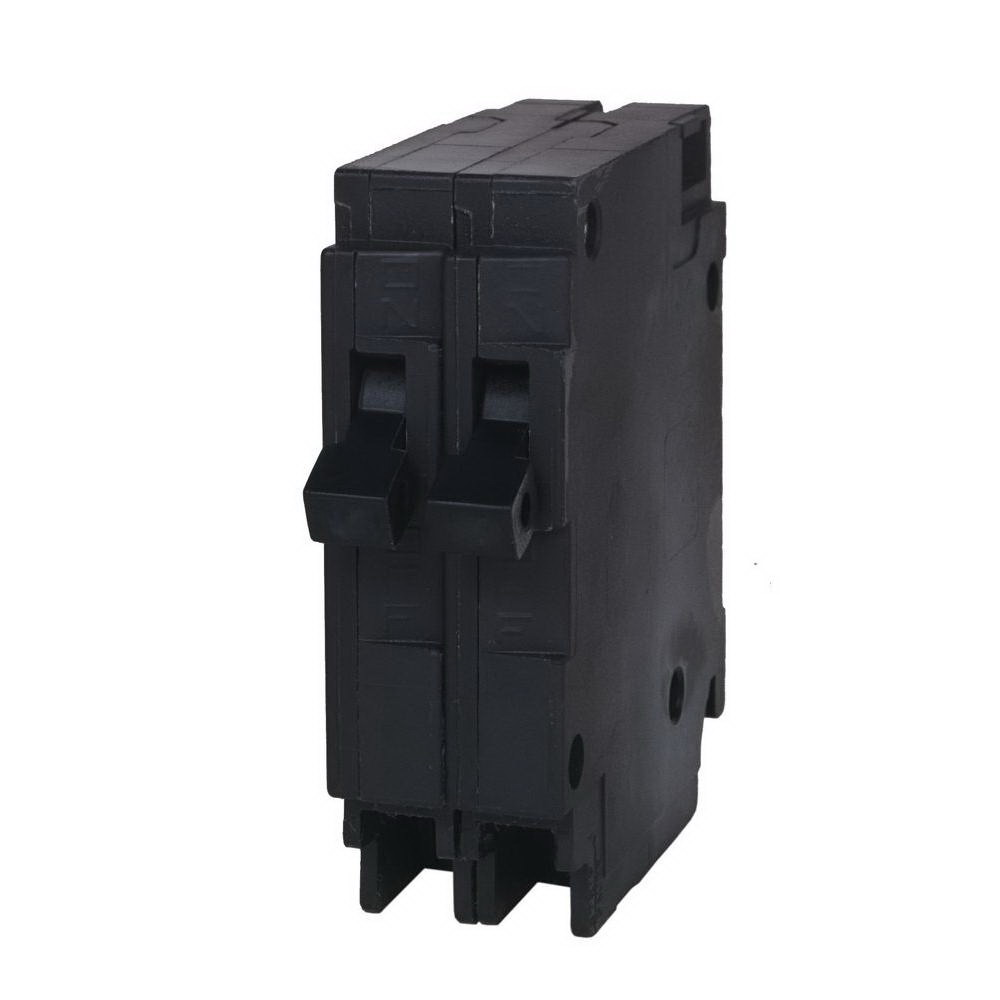 Murray MP1515N Duplex Type MH-T Circuit Breaker Without Clip, 120/240 VAC, 15 A, 1 P, 10 kA