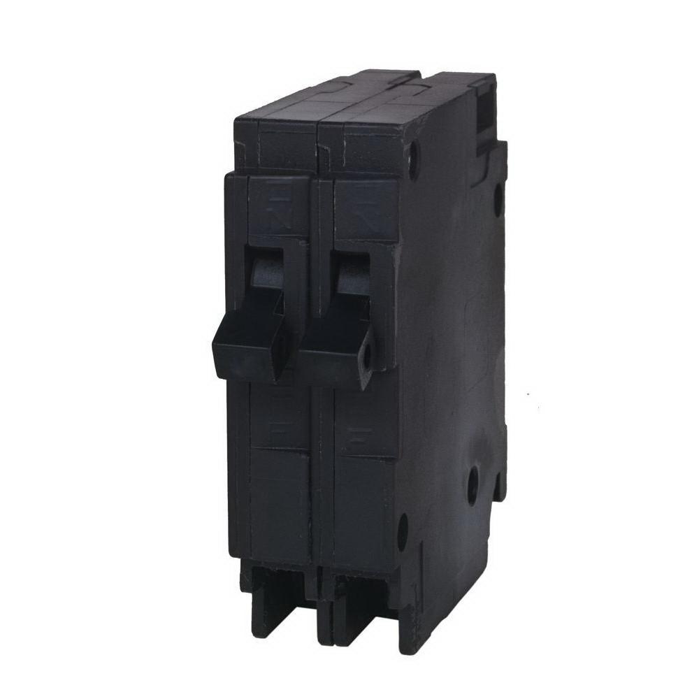 Murray MP2020N Duplex Type MH-T Circuit Breaker, 120 VAC, 20 A, 1 P, 10 kA