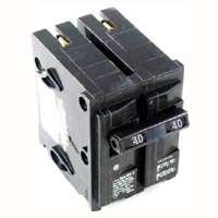 MES MP240 Type MP-T Circuit Breaker, 120/240 VAC, 40 A, 2 P, 10 kA