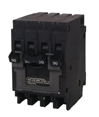 MURRAY MP220230CT2 CIRCUIT BREAKER, ONE 20 AMP DOUBLE POLE, ONE 30 AMP DOUBLE POLE