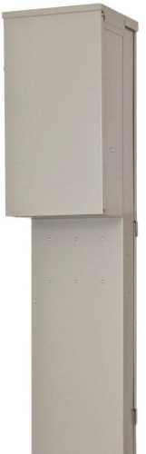SIEMENS POWER OUTLET PANEL WITH RECEPTACLES, UNMETERED, PEDESTAL MOUNT, 125 AMP MAIN LUG, 14-50R, TT30R, 5-20R2GFI