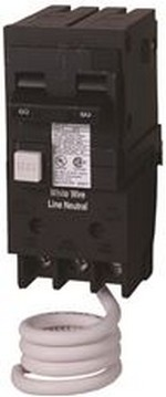 MURRAY MP230GFA GFCI CIRCUIT BREAKER, PLUG IN, SELF TESTING, 30 AMP, 2-POLE, 120 / 240 VOLT