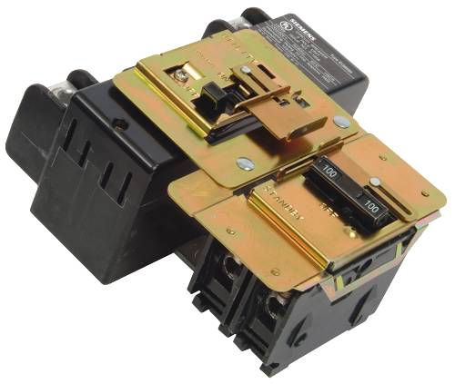 STANDBY POWER MANUAL TRANSFER INTERLOCK FOR MAIN & QP BREAKERS