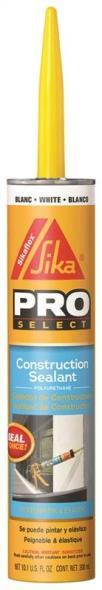 Sikaflex 90618/C437521 Non-Staining Sealant, 10.1 oz, Cartridge, White, Paste