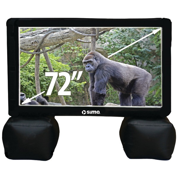 "SIMA SI-6 72"" Indoor/Outdoor Inflatable Screen"