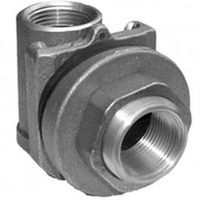 Simmons 1822SB Pitless Adapter, 1-1/4 in Pipe, 2-1/8 in Casing, 5000 lb, Silicon Bronze