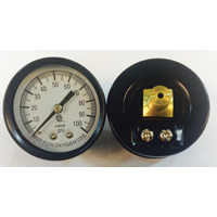 Simmons 1307 Pressure Gauge, 0 - 100 lb, 2 in Dial, 1/8 in MPT, Steel
