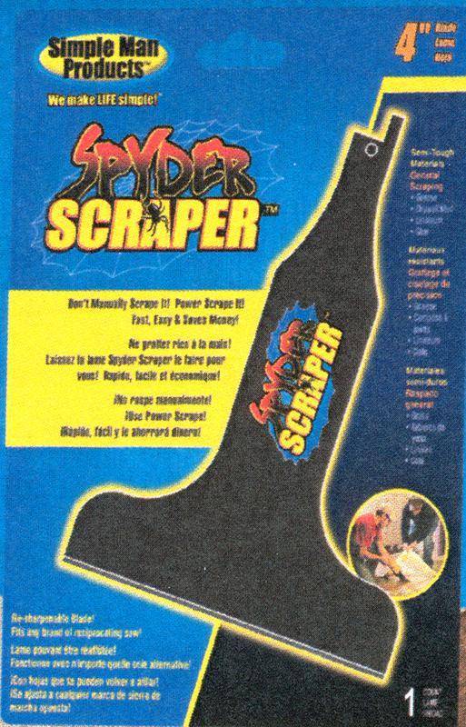 00108 4 IN. SPYDER SCRAPER