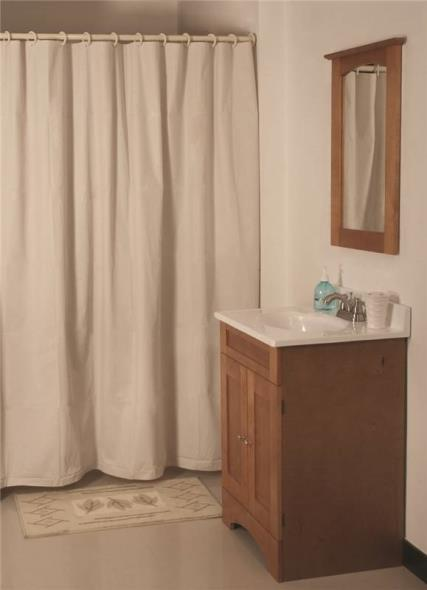 Homebasix SD-MCP01-B3L Heavy Duty Shower Curtain, 70 in W x 72 in L x 12 mm T, Vinyl, Beige