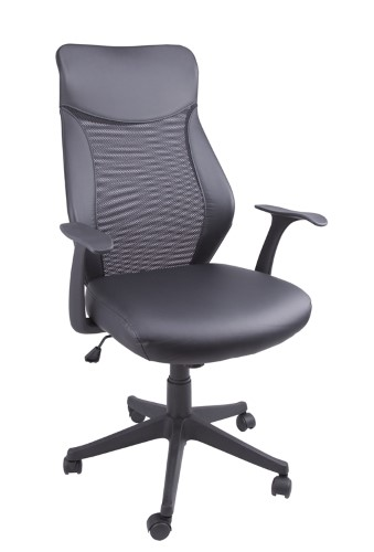 CHAIR OFFICE MESH BLACK FINISH
