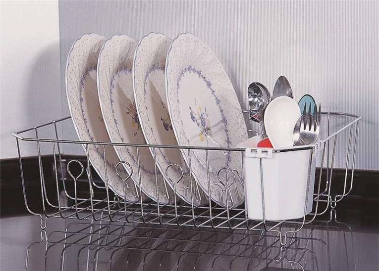 DISH DRAIN CHROME