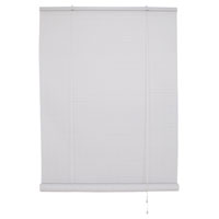 BLIND ROLL-UP VNYL WHT 36X72IN