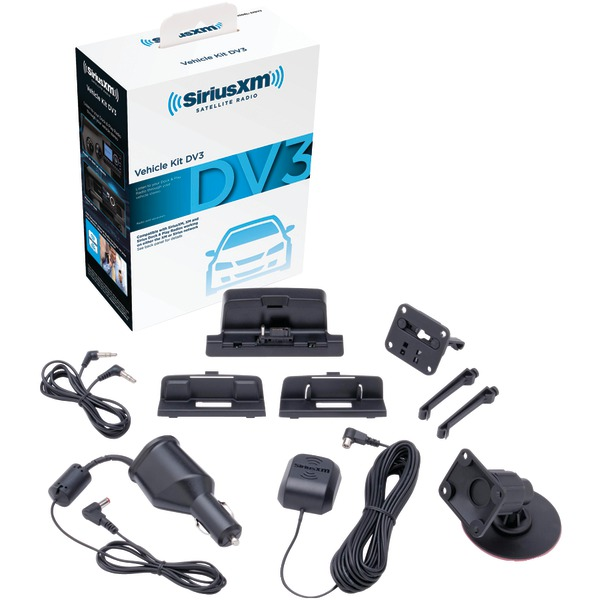 SiriusXM SXDV3 Sirius & SiriusXM Dock & Play Vehicle Kit