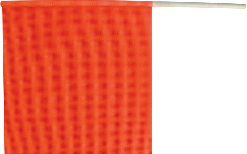 4989313 18X18 ORNG SAFETY FLAG