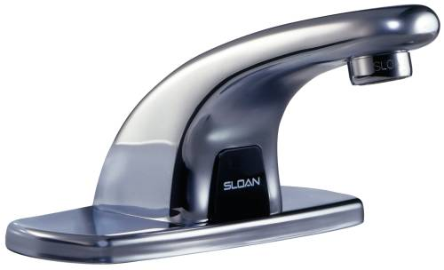 SLOAN EBF615-4SENSOR BATHROOM FAUCET 4 IN. DECK PLATE