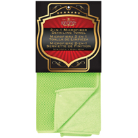 SM Arnold 25-860 Duo Sided Mesh Towel, 16 X 24 in, Plush Green, Microfiber