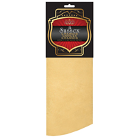 Sussex 85-125 Premium Chamois, 2 sq-ft, Leather