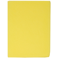 SM Arnold 85-435BULK Rectangle Promotional Sponge, 8-1/2 in L x 6-1/2 in W x 2 in T, Polyether