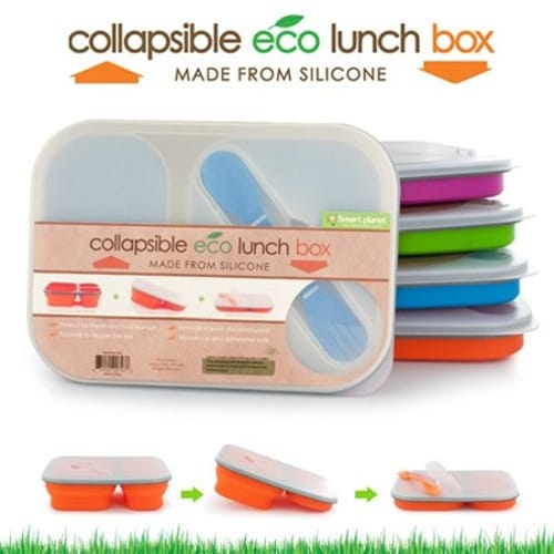 SMART PLANET EC34LP PINK MEAL KIT LARGE COLLAPSIBLE 48OZ