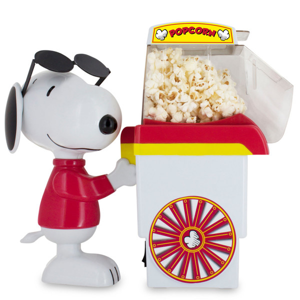 Smart Planet Pnp1 Snoopy Popcorn Popper Makes Popcorn
