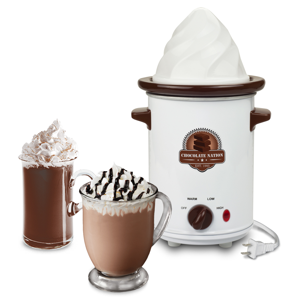 SMART PLANET CNB1GHCM GOURMET HOT CHOCOLATE MAKER WITH