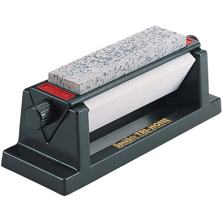 Smith'S Tri-Hone 3-Stone Sharpening System, For Use With All Types of Knives and Woodworking Tools