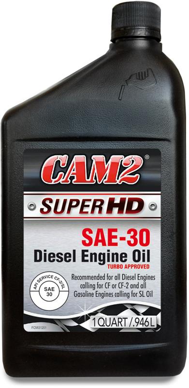 CAM2 QT HD SAE 30 MOTOR OIL