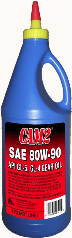 CAM2 QT 80W-90 GL-5 GEAR OIL