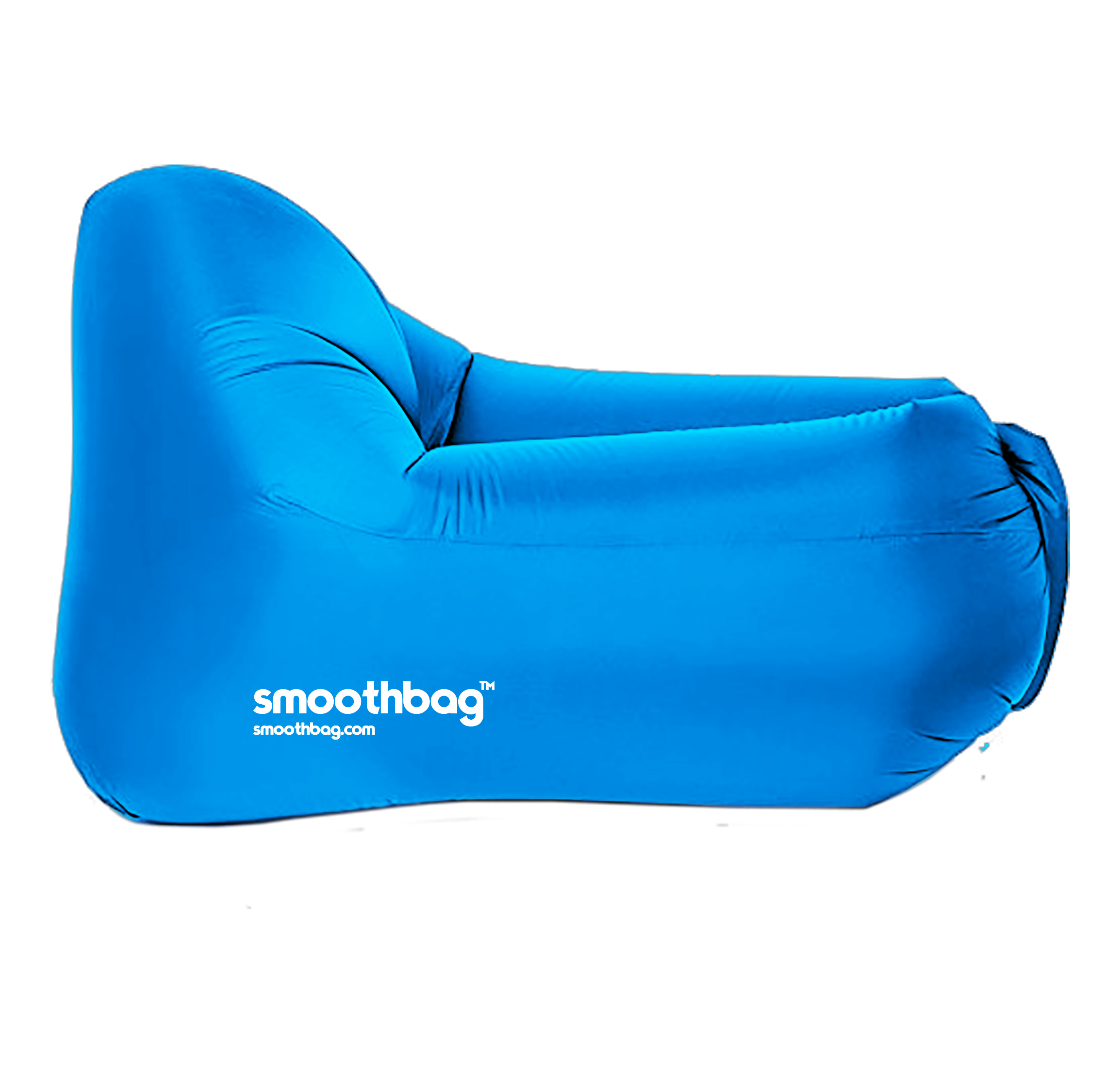 SMOOTHBAG SBCBLUE BLUE  INFLATABLE LOUNGER CHAIR