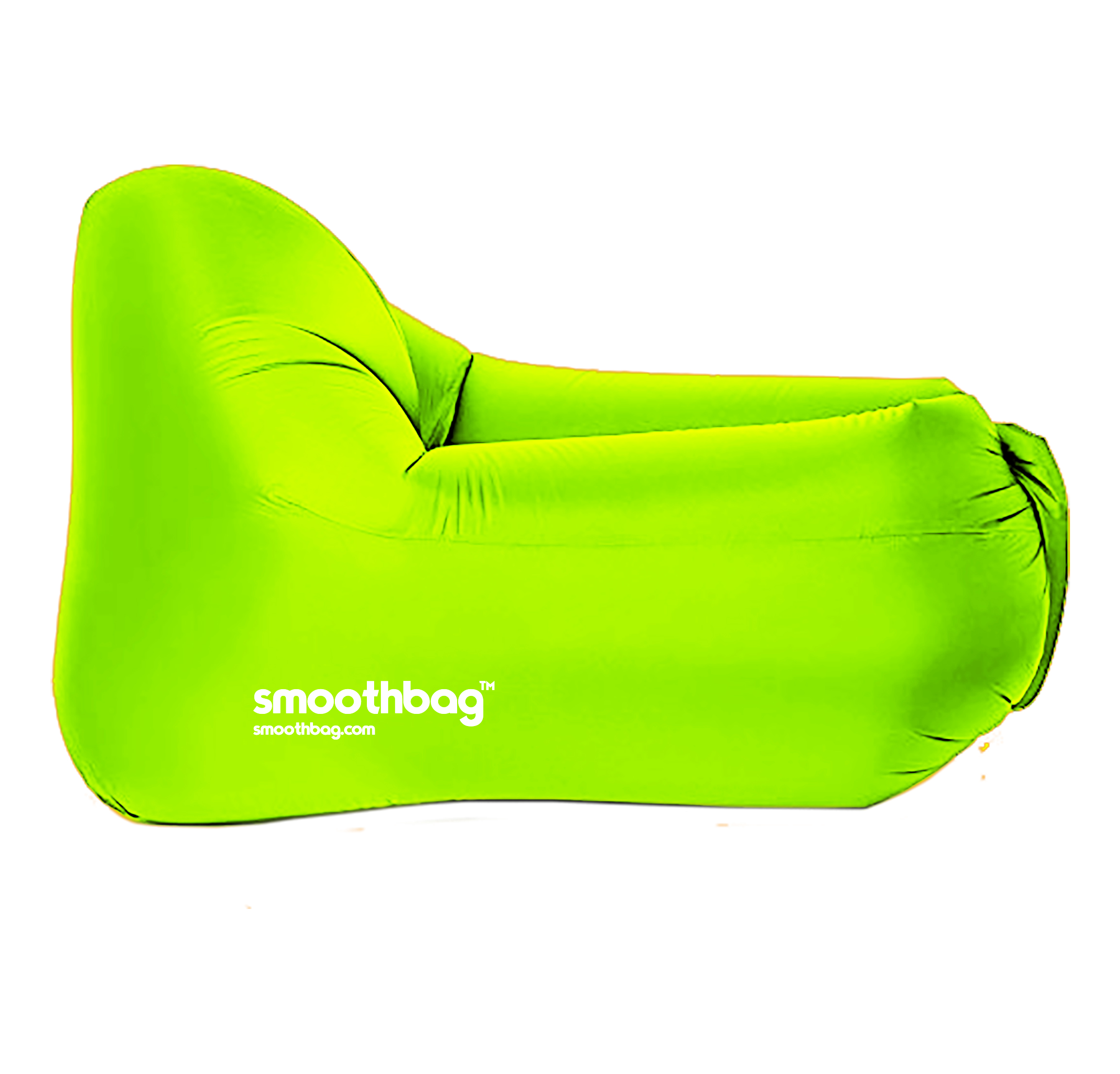 SMOOTHBAG SBCGREEN GREEN  INFLATABLE LOUNGER CHAIR