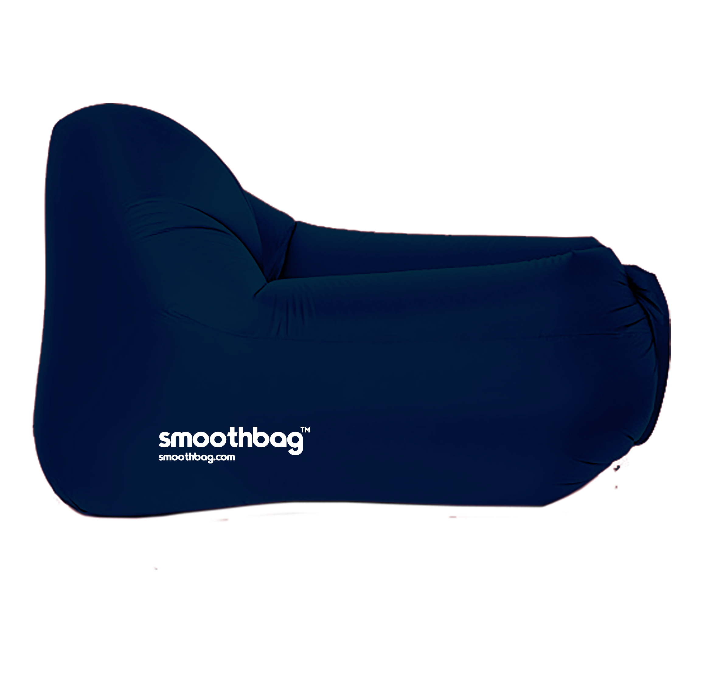 SMOOTHBAG SBCNAVY NAVY  INFLATABLE LOUNGER CHAIR