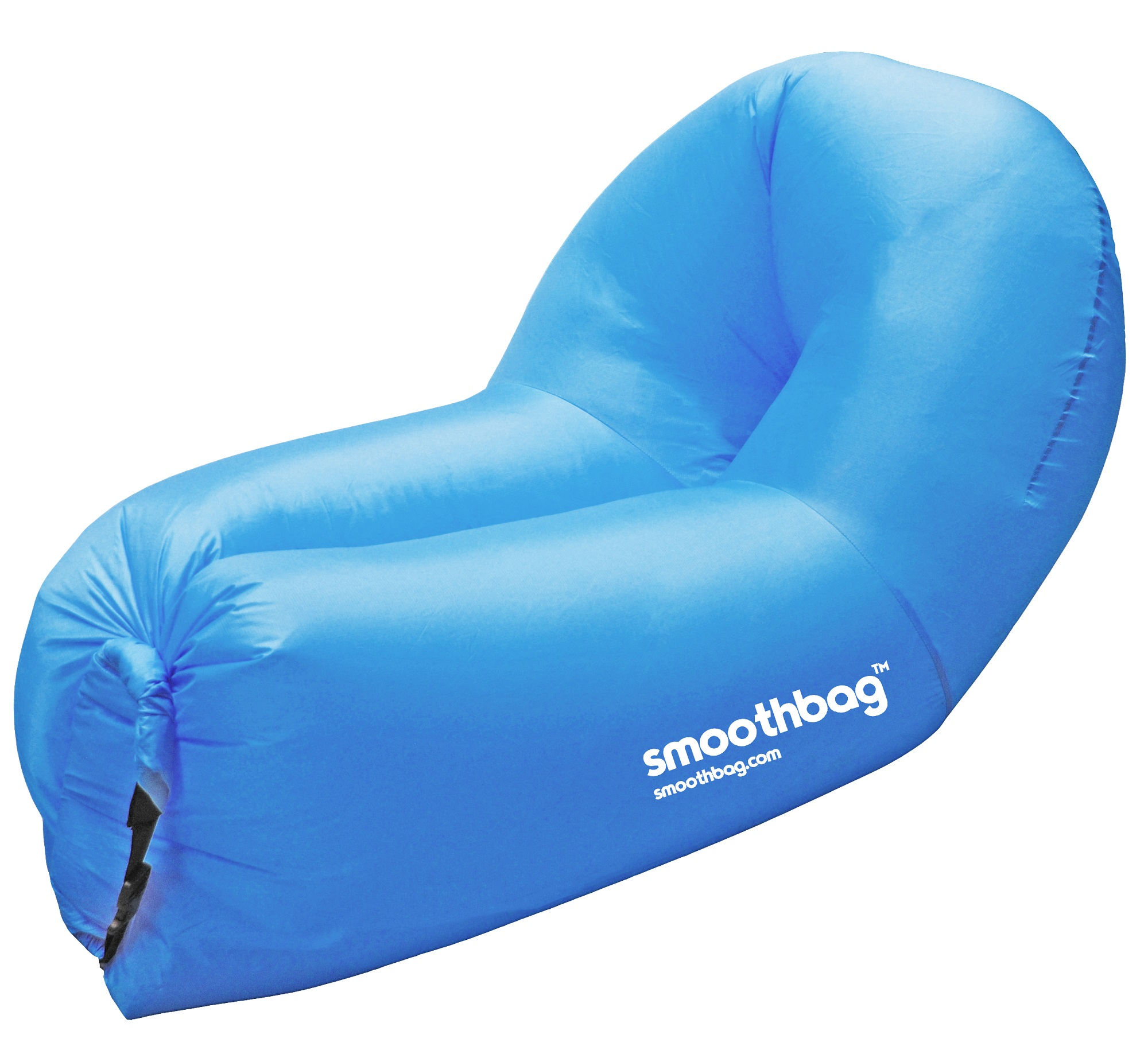 SMOOTHBAG SBPBLUE BLUE 2 IN 1 SOFA & CHAIR INFLATABLE LOUNGER