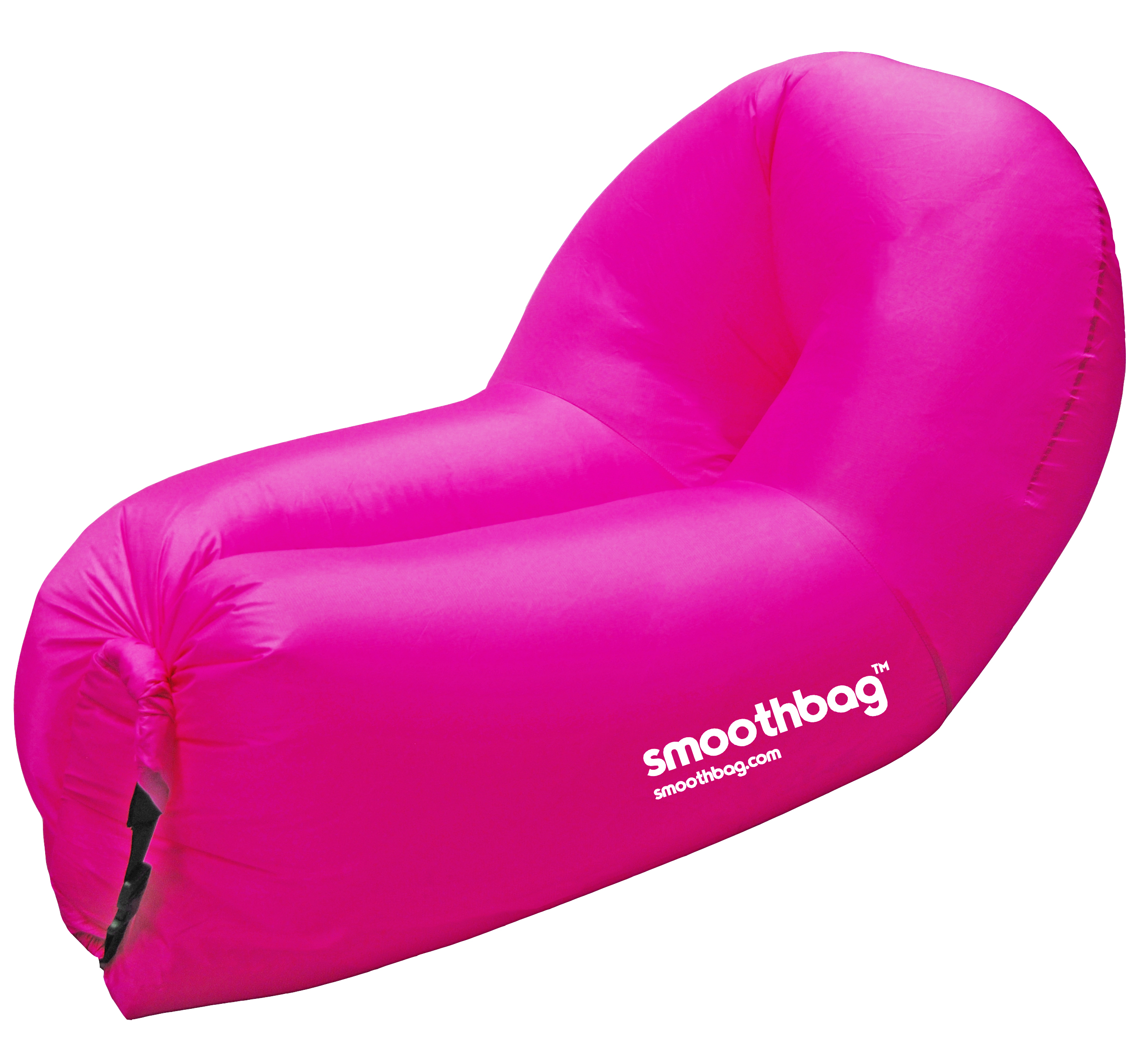 SMOOTHBAG SBPPINK PINK 2 IN 1 SOFA & CHAIR INFLATABLE LOUNGER