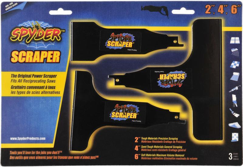 00134 Multi  Pack Spyder Scraper