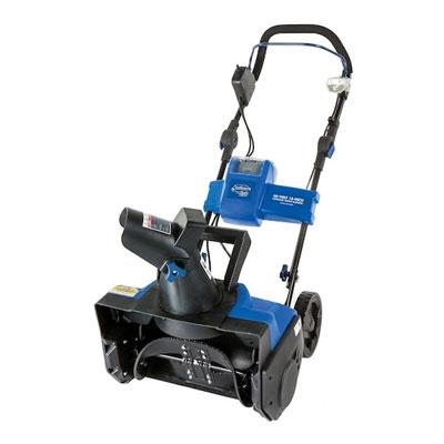 Snow Joe Ion18sb Cordless Single Stage Snow Blower, 40 V, Lithium-Ion