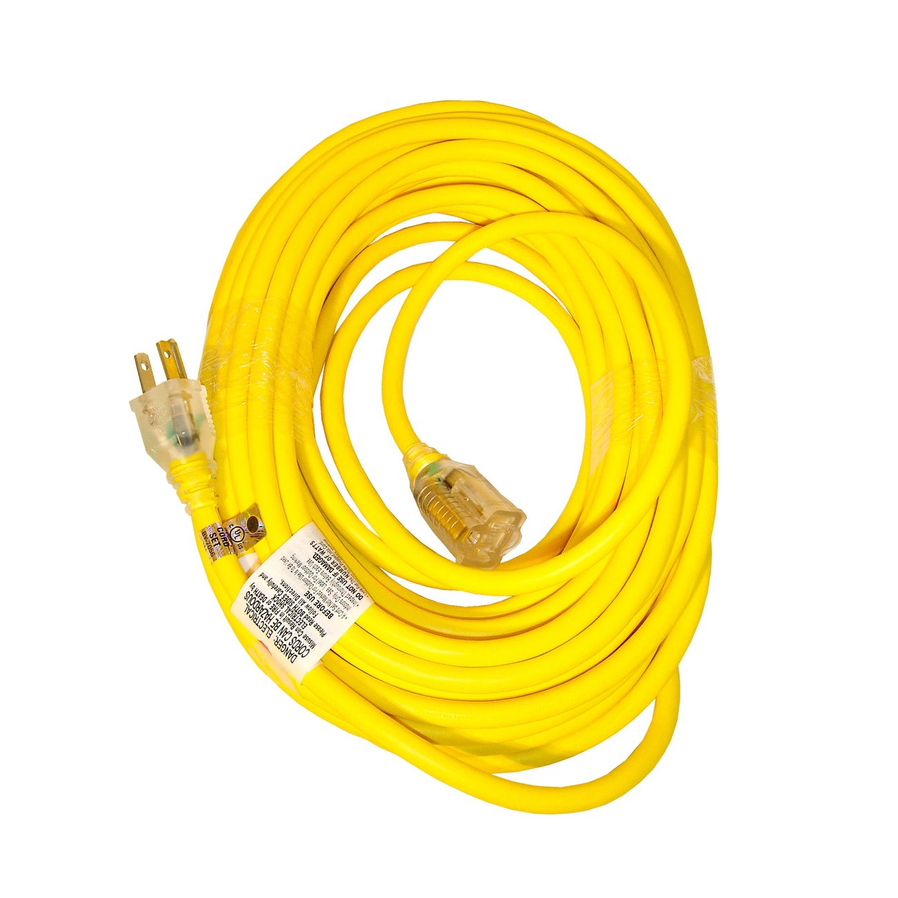 Snow Joe B Low Temp Extension Cord 50 Foot 14 Gauge Lighted End