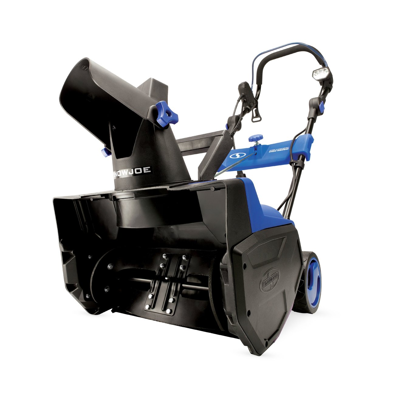 Snow Joe Corded Electric Single Stage Snow Thrower 18 In 14.5 Amp Motor LED Lights
