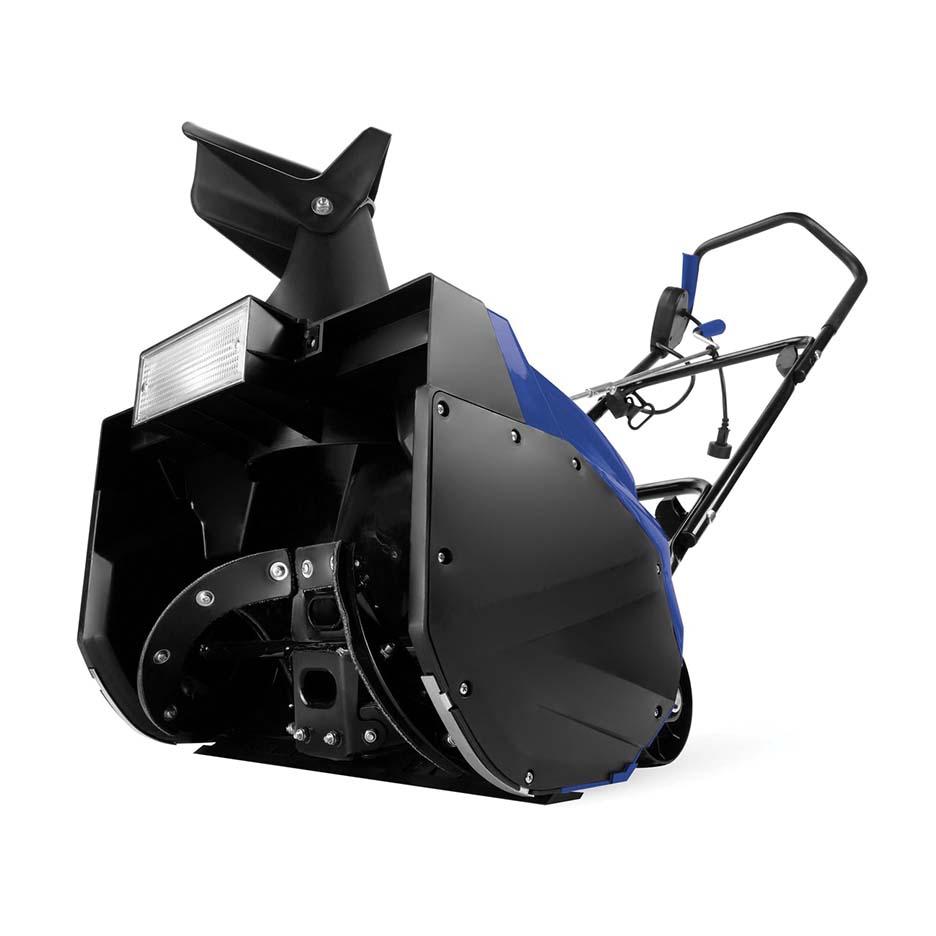 Snow Joe Corded Electric Single Stage Snow Thrower 18 In 13.5 Amp Motor Headlights