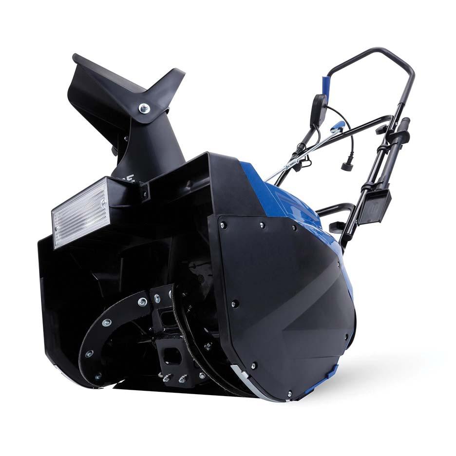Snow Joe  Corded Electric Single Stage Snow Thrower 18 In 15 Amp Motor Headlights