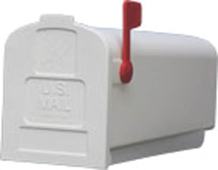 MAILBOX STD - WHT
