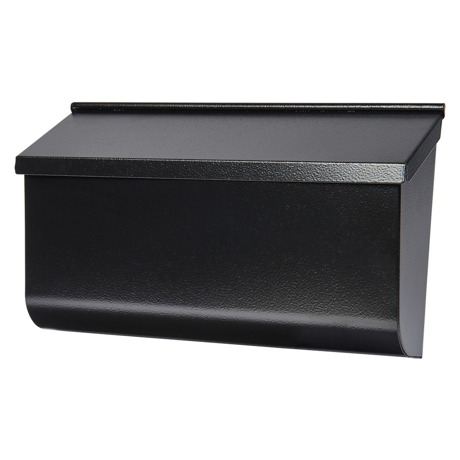 Gibraltar L4010WB0 Heavy Duty Mail Box, 4-3/4 in W x 10 in D x 17 in H, Black