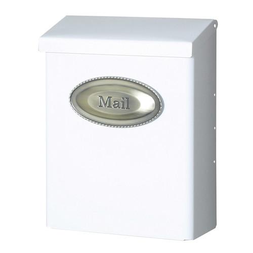 Solar DMVKGV04 Mailbox, 10-1/4 in W x 13-1/8 in D x 4.8125 in H, Venetian Bronze